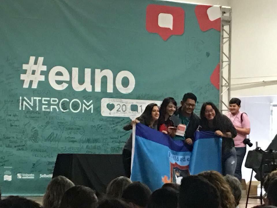 FBN leva único prêmio estudantil de Jornalismo do AMAZONAS no Intercom Nacional 2018