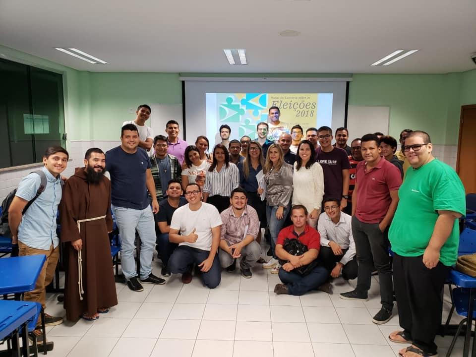 Alunos de Ciências Teológicas visitam a Faculdade Salesiana Dom Bosco