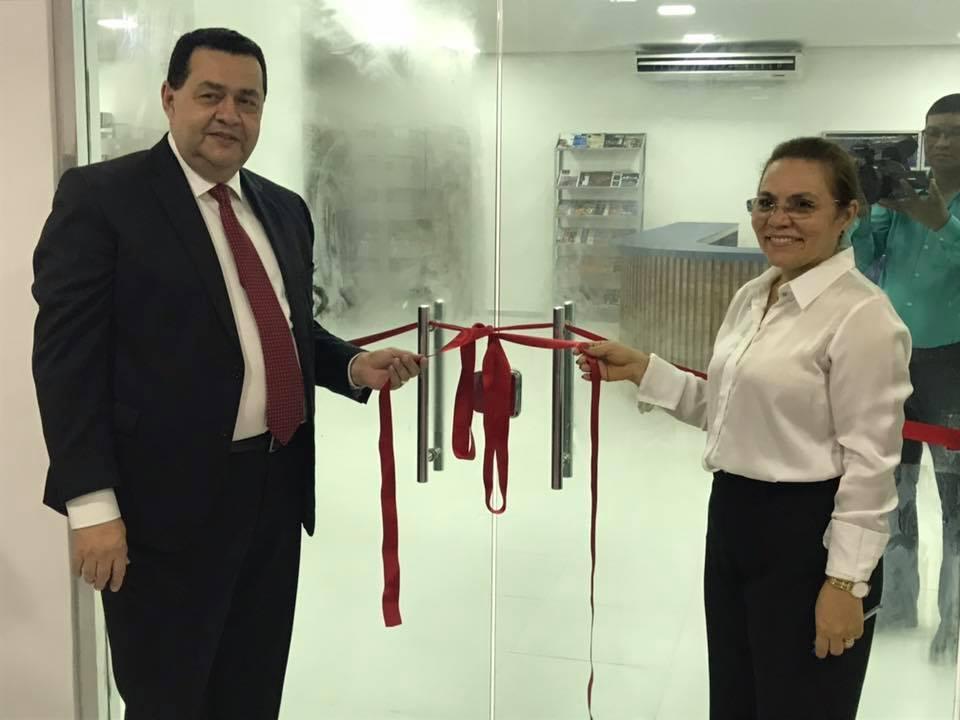 Inauguração de dois novos espaços na instituição