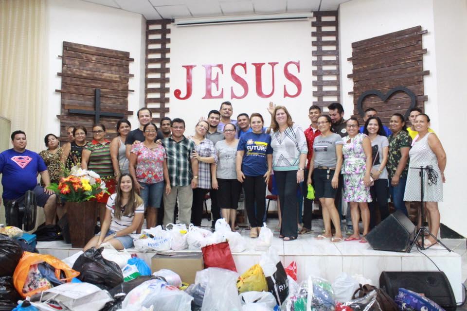 Ação Solidária – Em prol das vítimas do incêndio do Educandos