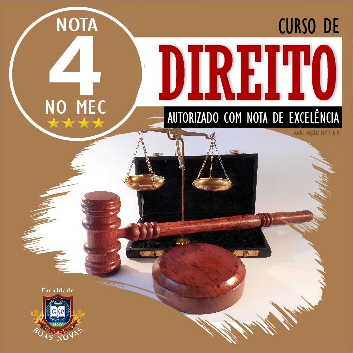 Novo curso de Direito