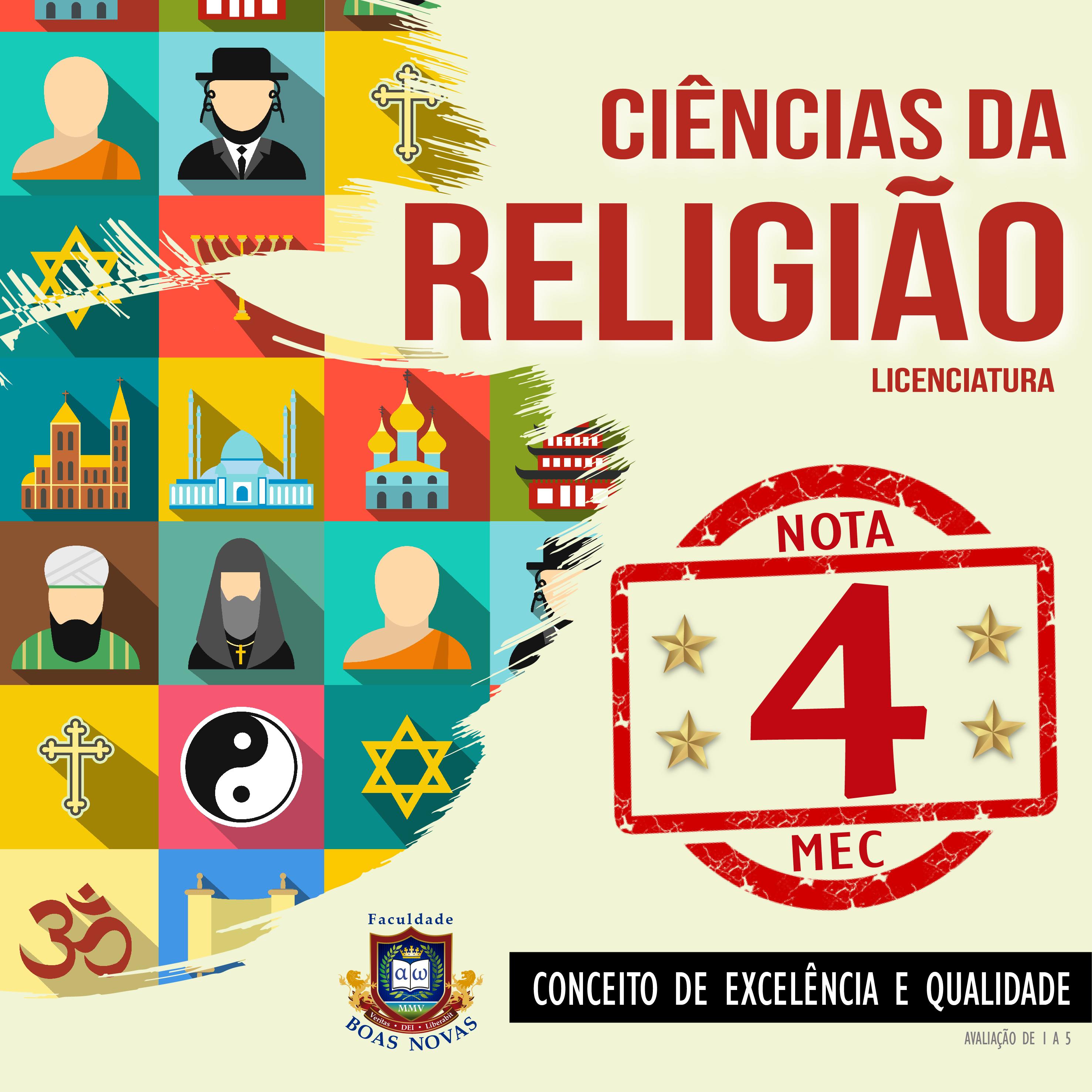 Ciências da Religião é o novo curso da FBN