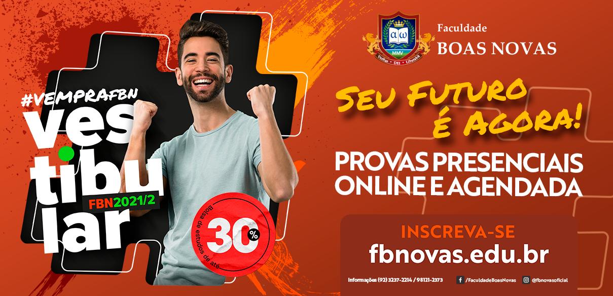 FBN lança campanha do vestibular 2021 para o segundo semestre