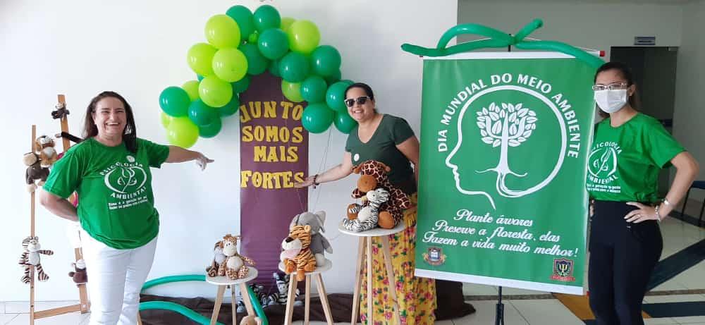 Curso de Psicologia da FBN realiza trabalho de sensibilização ambiental