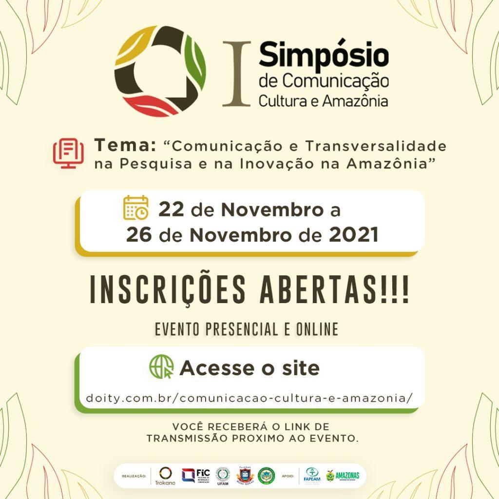 Grupo de Pesquisa Trokano realiza evento híbrido com foco em comunicação, cultura e Amazônia, entre os dias 22 e 26 de novembro